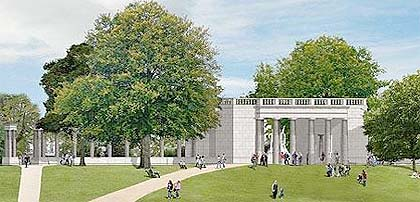 das geplante Memorial im Londoner Green Park