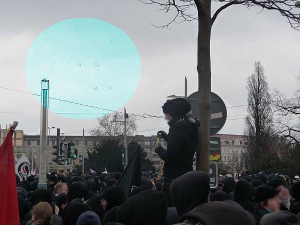Albertplatz - Seifenblasen