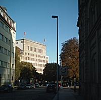 Gewerkschaftshaus am Schützenplatz in Dresden
