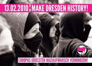 Motiv History - Stickercontest zum 13. Februar 2010 in Dresden