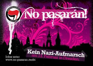 Motiv Pinke Schnörkel - Stickercontest zum 13. Februar 2010 in Dresden